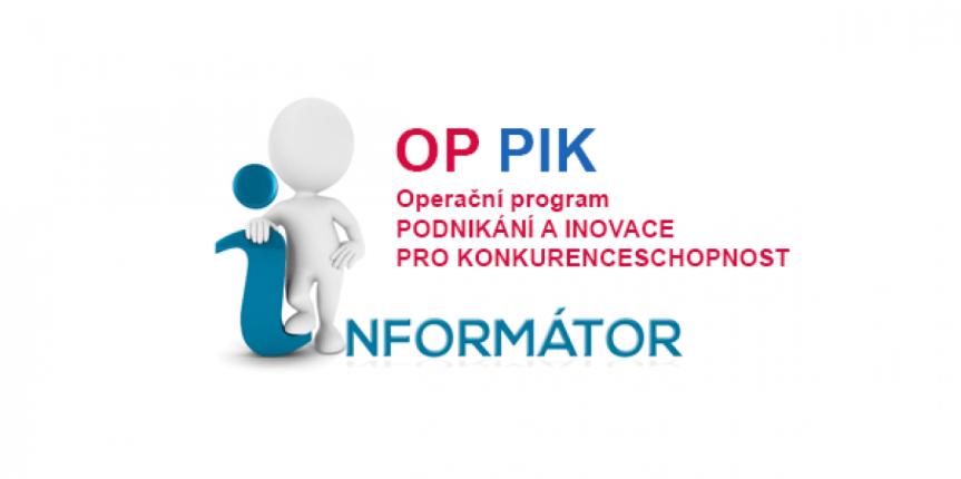 Informační seminář k Operačnímu programu podnikání pro konkurenceschopnost (OPPIK)